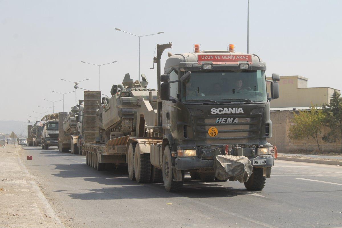 TSK, Suriye sınırındaki tankları Yunan sınırına sevk ediyor #2