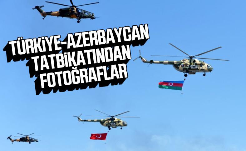 Türkiye ve Azerbaycan askerleri ortak tatbikat düzenledi.