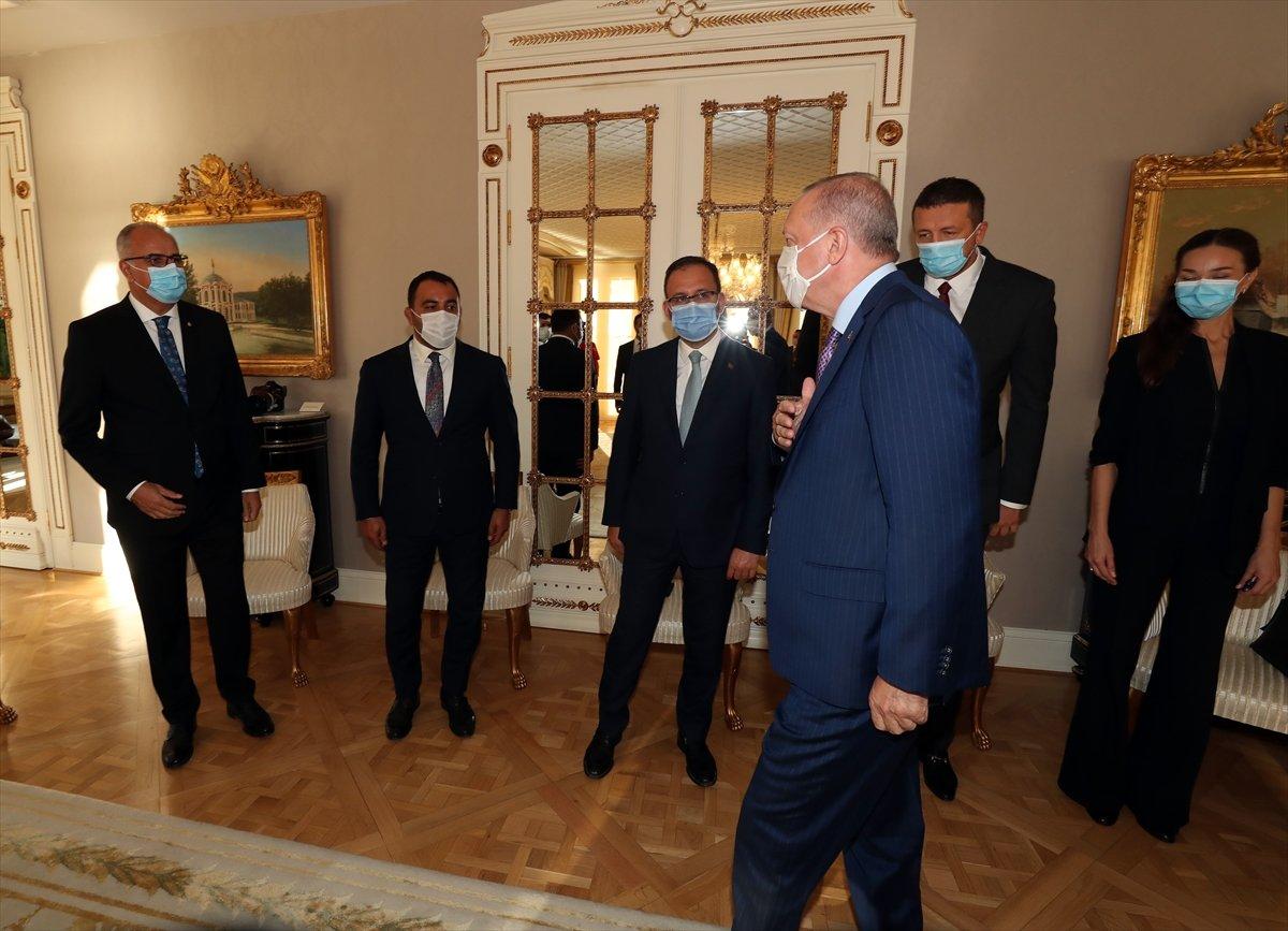 Cumhurbaşkanı Erdoğan, Avrupa şampiyonu voleybolcularımızı kabul etti #3