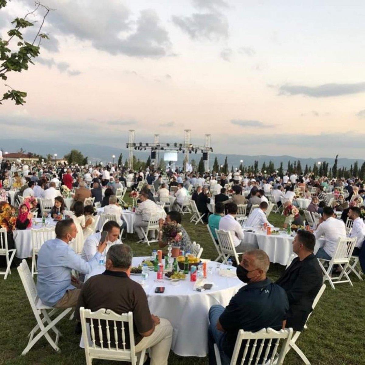 AK Parti Milletvekili Cemil Yaman, oğluna düğün yaptı  #4