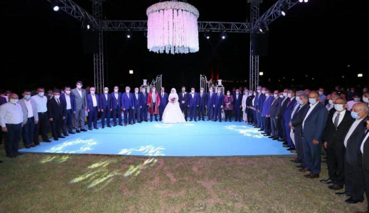 AK Parti Milletvekili Cemil Yaman, oğluna düğün yaptı  #1