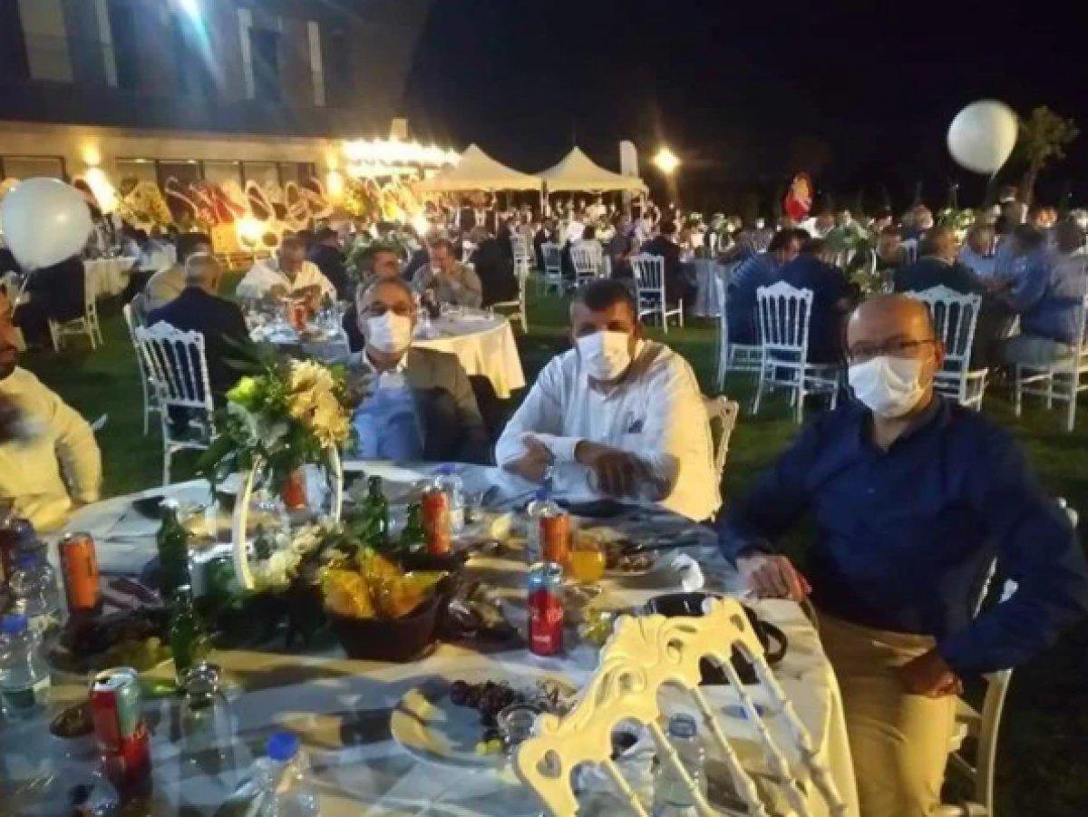 AK Parti Milletvekili Cemil Yaman, oğluna düğün yaptı  #2