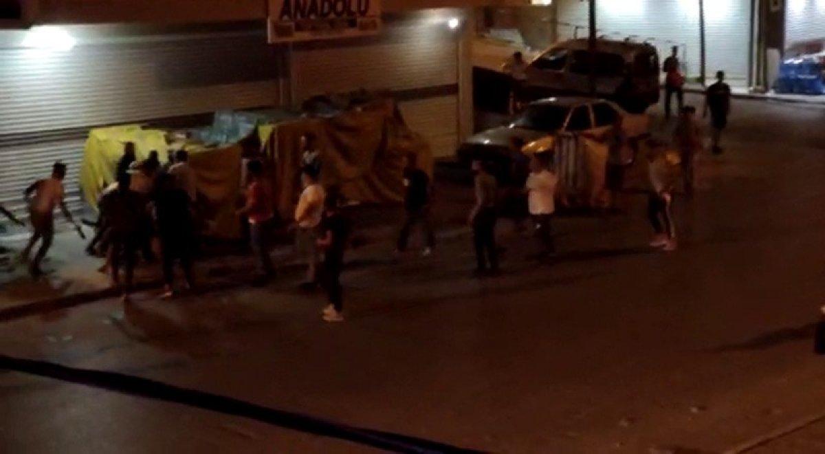 Arnavutköy'de düğünde çıkan kavga sokakta devam etti #3