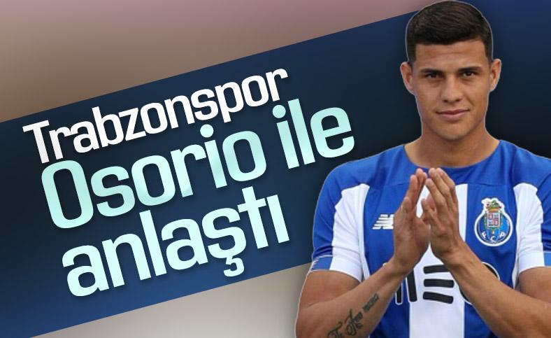 Trabzonspor Yordan Osorio transferini bitirdi