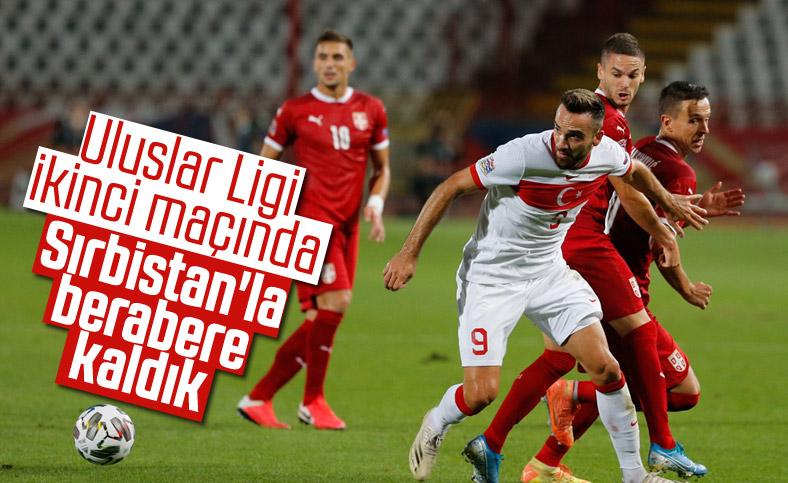 Türkiye, UEFA Uluslar Ligi 2. maçında Sırbistan'la berabere kaldı