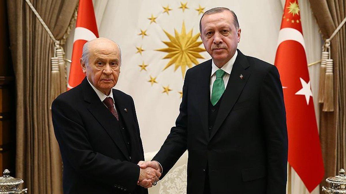 Devlet Bahçeli: 2023 te Cumhurbaşkanı adayımız Erdoğan dır #1