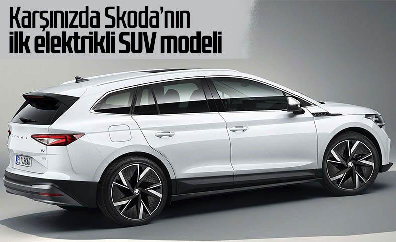 Skoda'nın ilk elektrikli SUV modeli Enyaq iV tanıtıldı