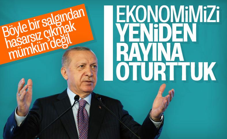 Erdoğan'dan, Türkiye Sigorta Tanıtım Töreni'nde açıklamalar