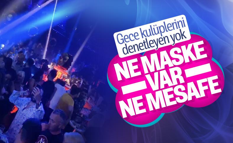 İstanbul'daki gece kulüplerinde korkutan görüntüler
