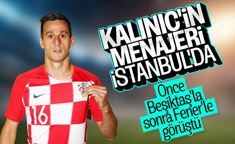 Fenerbahçe ve Beşiktaş'ın Nikola Kalinic yarışı