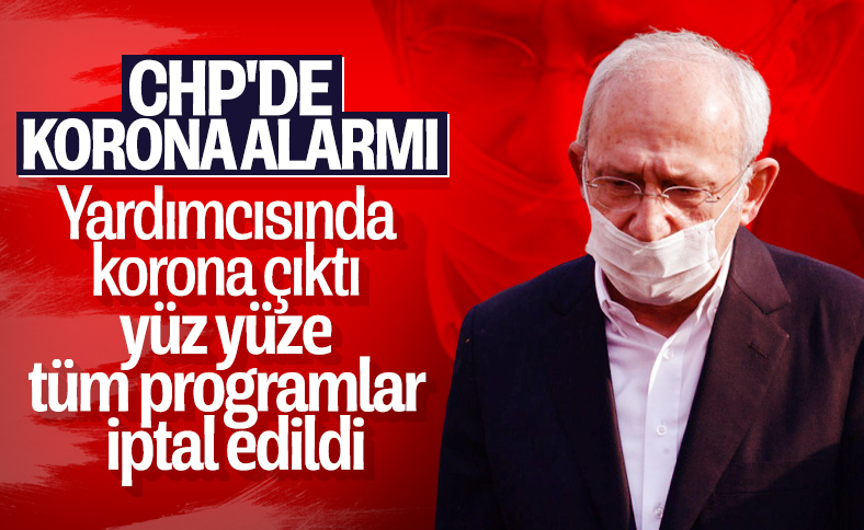 CHP'de yüz yüze yapılacak görüşmeler iptal