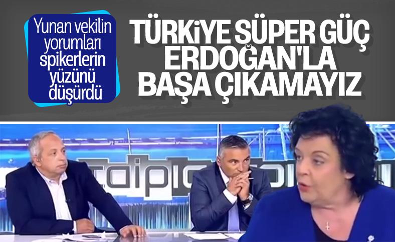 Yunan vekilin Erdoğan ve Türkiye itirafı
