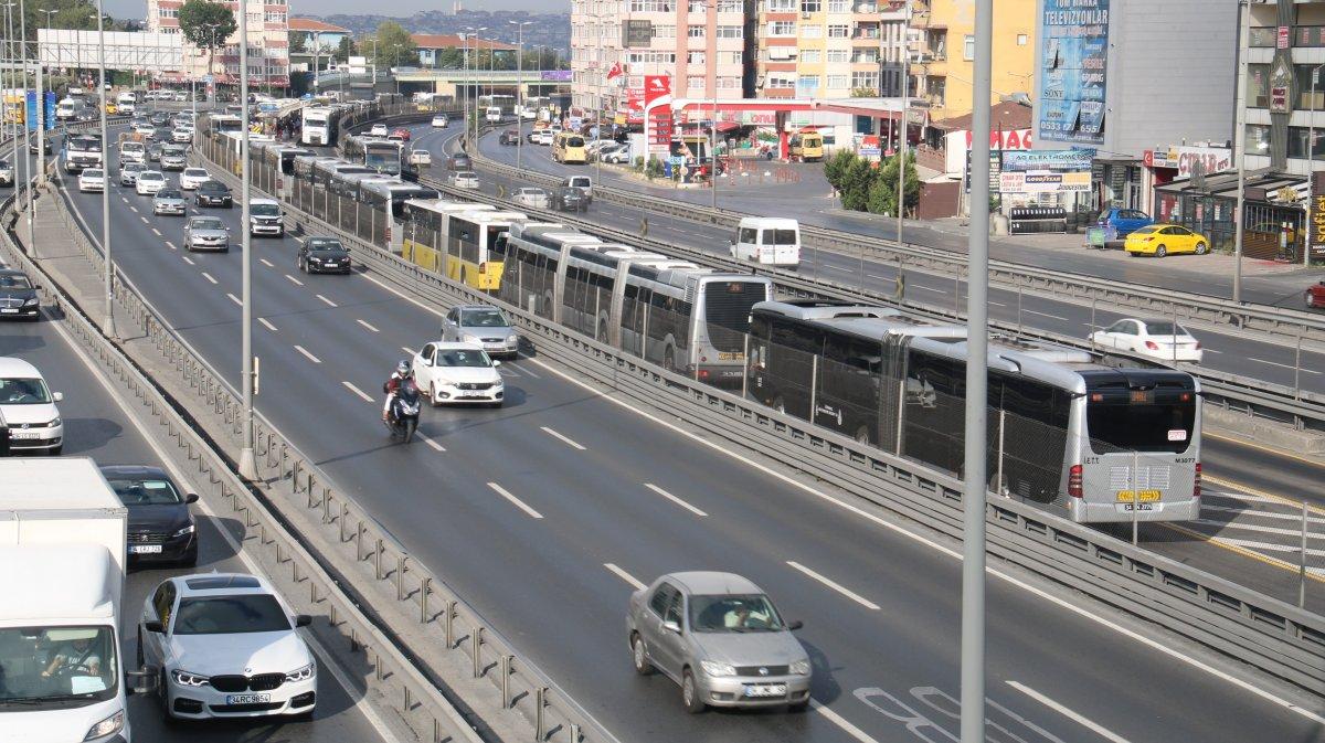 Florya da metrobüs arıza yaptı #2