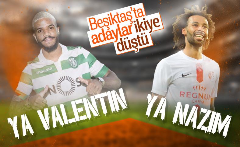 Beşiktaş'ın sağ bek adayları: Nazım Sangare, Valentin Rosier