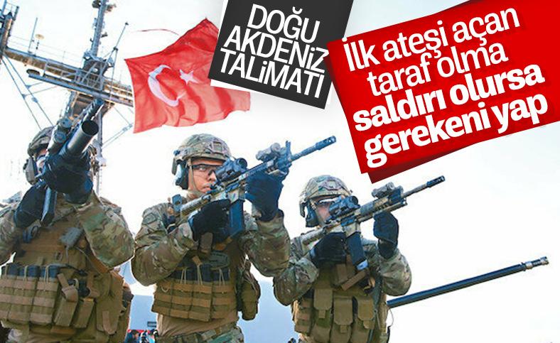 Cumhurbaşkanı Erdoğan, Oruç Reis'e saldırı durumunda talimat verdi