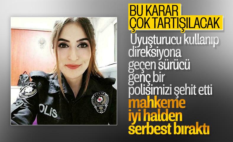 Polis Buket Keleş'in ölümüne neden olan sürücü serbest kaldı