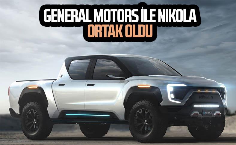 General Motors, elektrikli araç üreticisi Nikola'nın hisselerini satın alacak