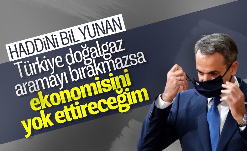 Miçotakis yazdığı makalede Türkiye'yi tehdit etti