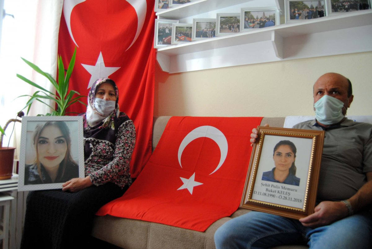 Şehit polis memuru Buket Keleş'in annesi: Kızımın kanını yerde koymayın