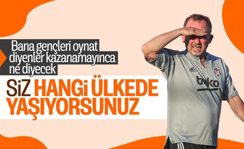 Sergen Yalçın: Türkiye'de herkes tabelaya bakıyor