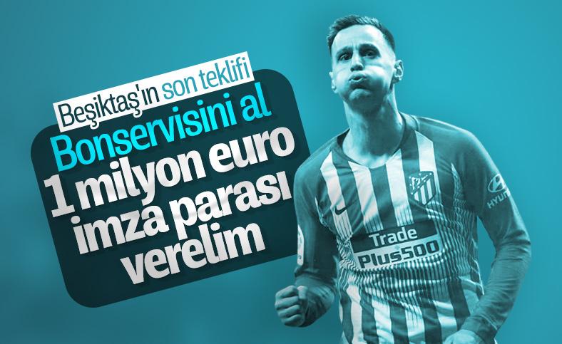 Beşiktaş'tan Nikola Kalinic'e imza parası teklifi