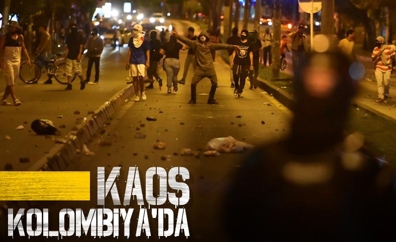 Kolombiya'da polis şiddeti protestolarında 7 kişi öldü