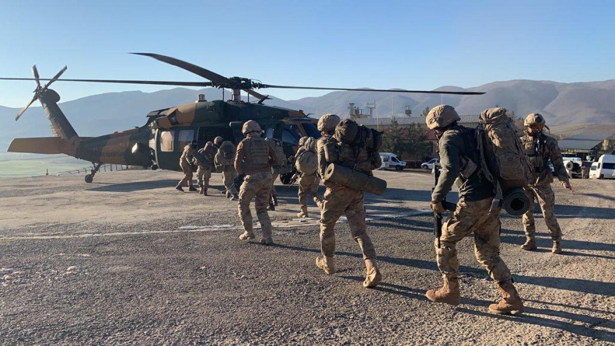 Siirt te Yıldırım-11 Herekol Operasyonu başlatıldı #7
