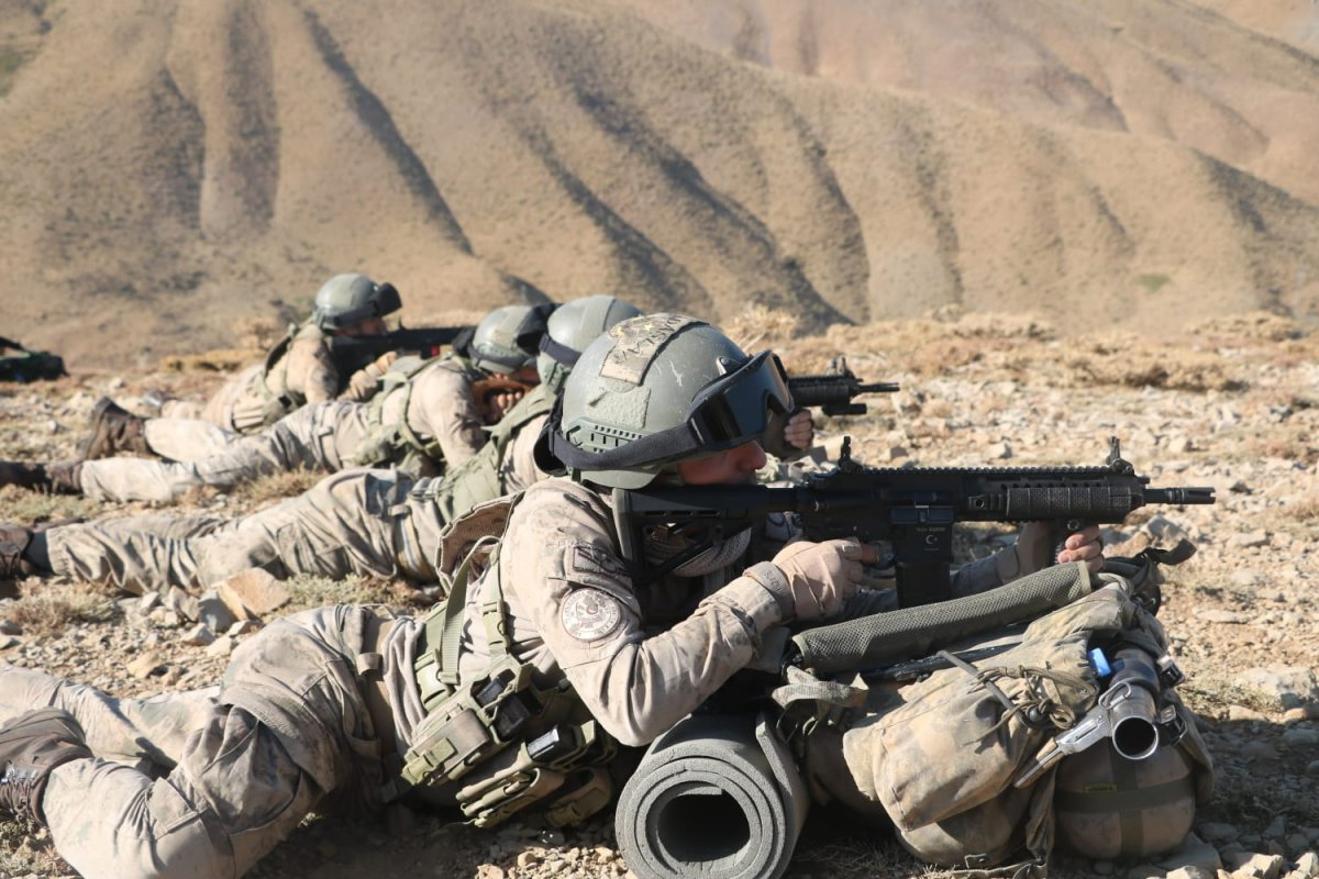 Siirt te Yıldırım-11 Herekol Operasyonu başlatıldı #5