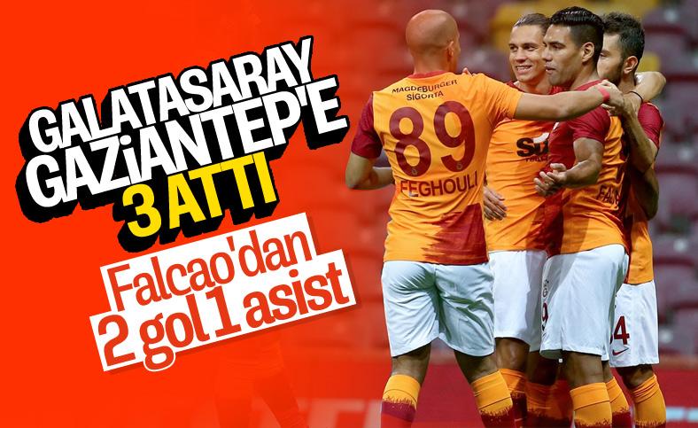 Galatasaray, Gaziantep'i 3 golle mağlup etti