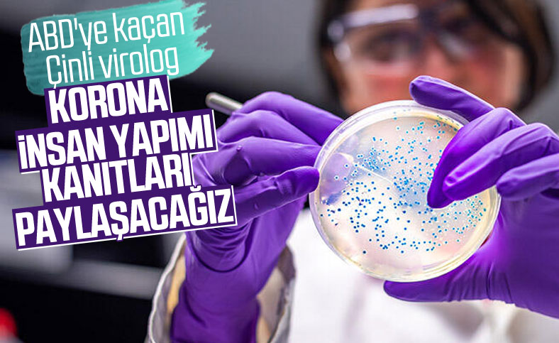 Çinli virolog Dr. Li-Meng Yan, koronavirüsün insan yapımı olduğunu söyledi