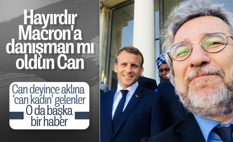 Can Dündar, Türkiye - Fransa geriliminde tarafını belli etti