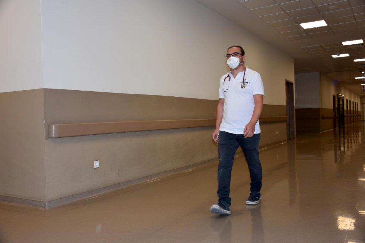 Koronavirüsü yenen doktor: Acı içinde ağladım # 3