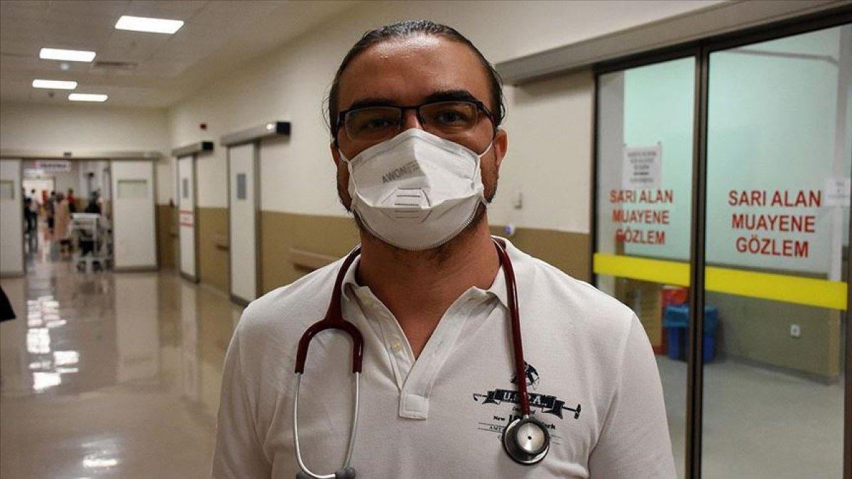 Koronavirüsü yenen doktor: Acı içinde ağladım # 1