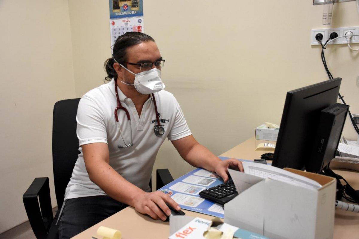 Koronavirüsü yenen doktor: Acı içinde ağladım # 2