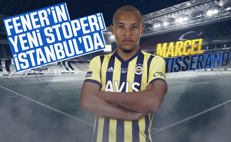 Fenerbahçe'nin yeni stoperi Tisserand İstanbul'da