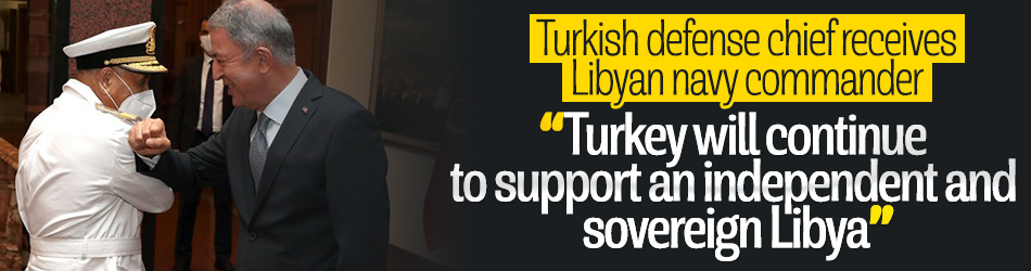 Turkish chief discusses security issues with Libyan commander