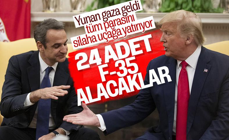 Yunanistan ve ABD, 24 adet F-35 için görüşme halinde