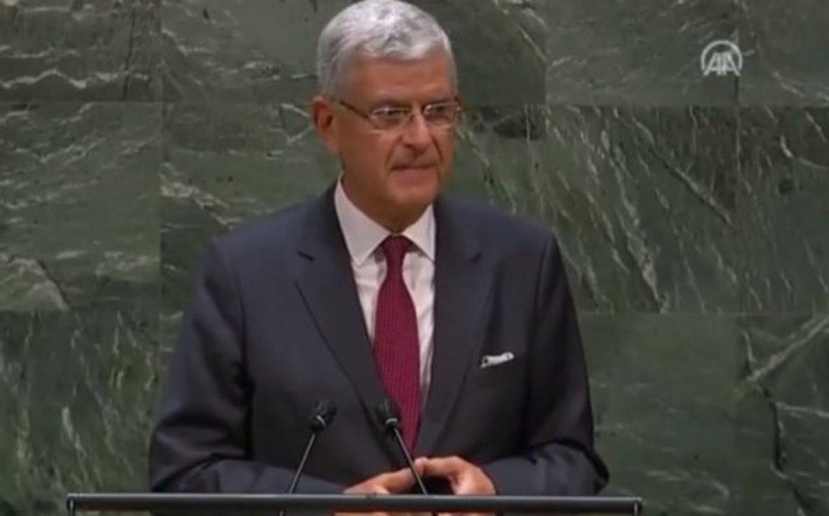 Volkan Bozkır BM Genel Kurulu Başkanı olarak yemin etti #1