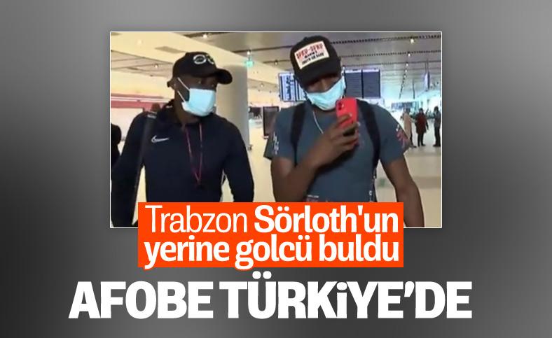 Trabzonspor'un yeni transferi Benik Afobe İstanbul'a geldi