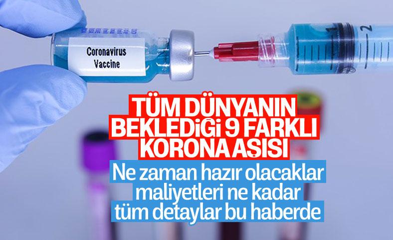 Dünya genelinde son aşamaya gelen aşı çalışmaları