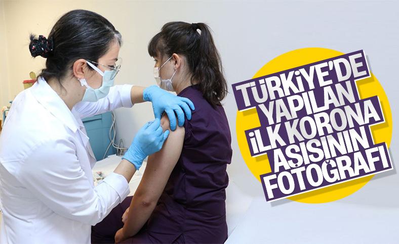 Koronavirüs aşısında ilk gönüllü uygulaması Hacettepe'de yapıldı