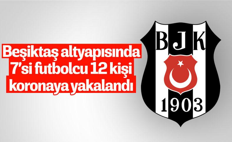 Beşiktaş'da 12 kişinin korona testi pozitif çıktı
