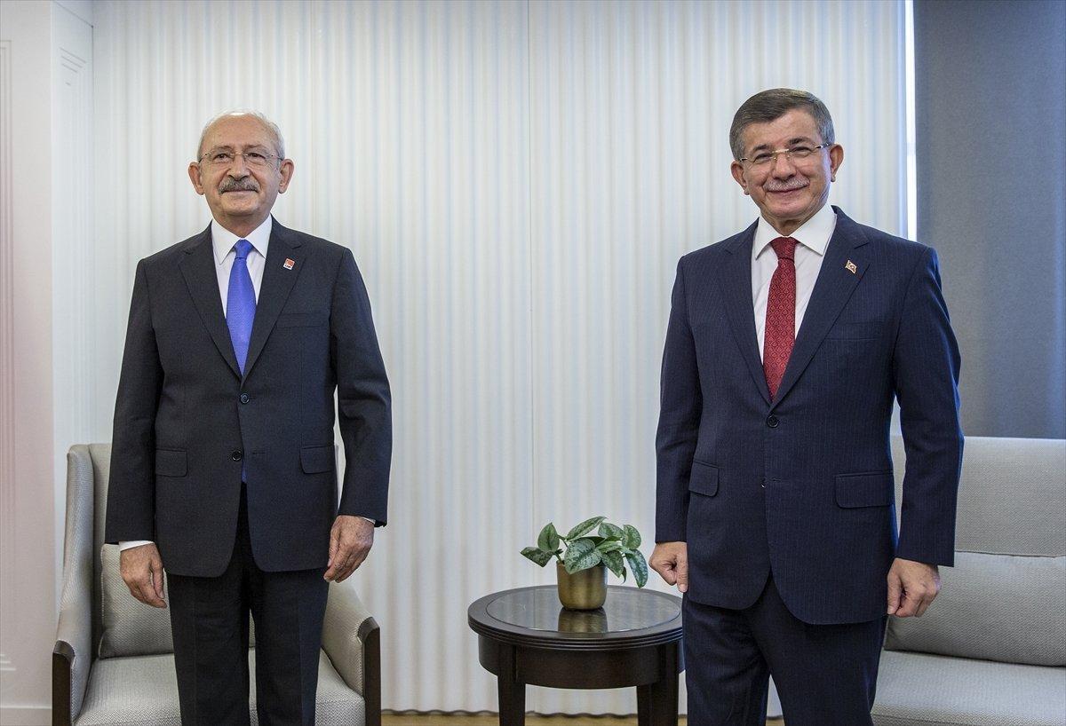 Kemal Kılıçdaroğlu ile Ahmet Davutoğlu arasında FETÖ'cü şakası #1