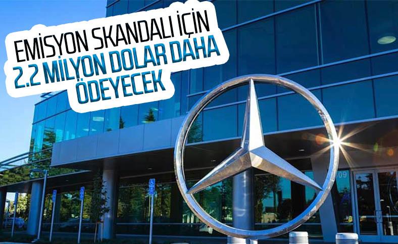 Mercedes, emisyon skandalı için 2.2 milyar dolar ödemeyi kabul etti