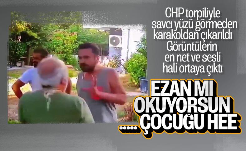 Halil Sezai'nin yaşlı adamı dövdüğü anın en net görüntüsü