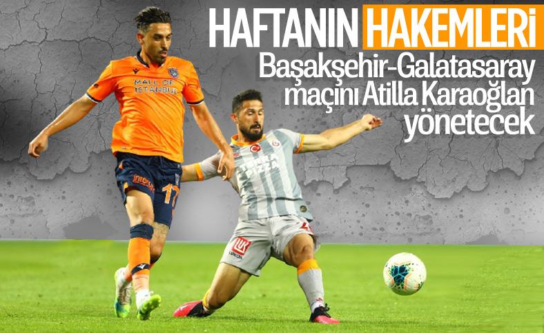 Süper Lig'de 2. hafta maçlarını yönetecek hakemler