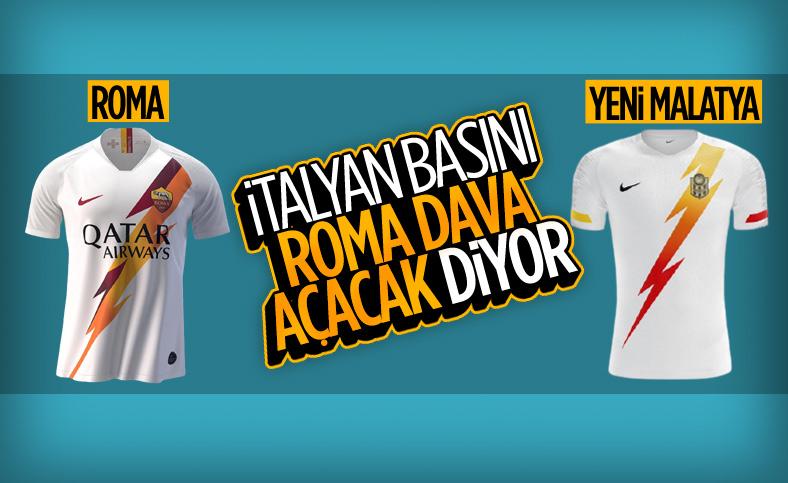 Nike, Yeni Malatyaspor'a Roma'nın formasından yaptı