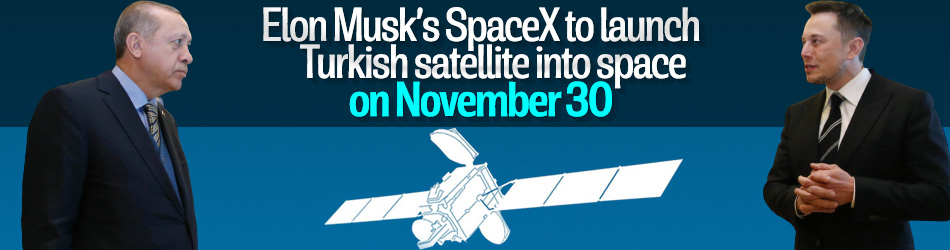 SpaceX to launch satellite Turksat 5A on November 30