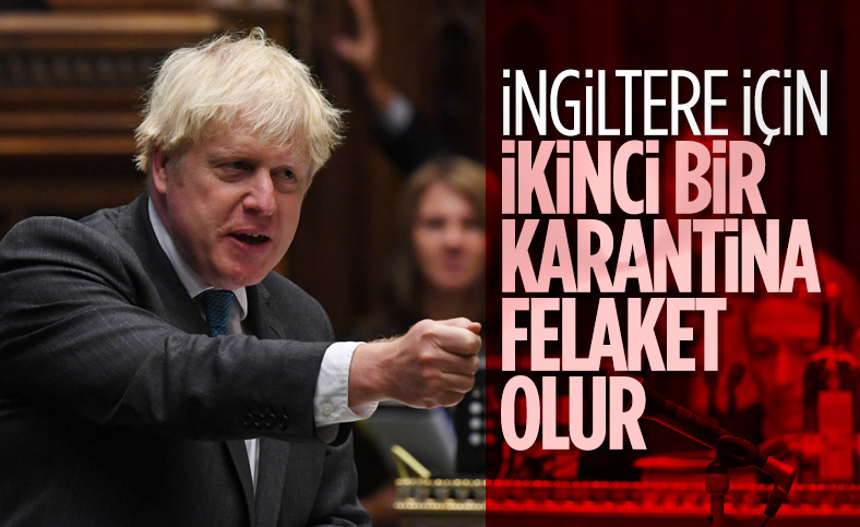İngiltere Başbakanı: İkinci bir karantina istemiyoruz
