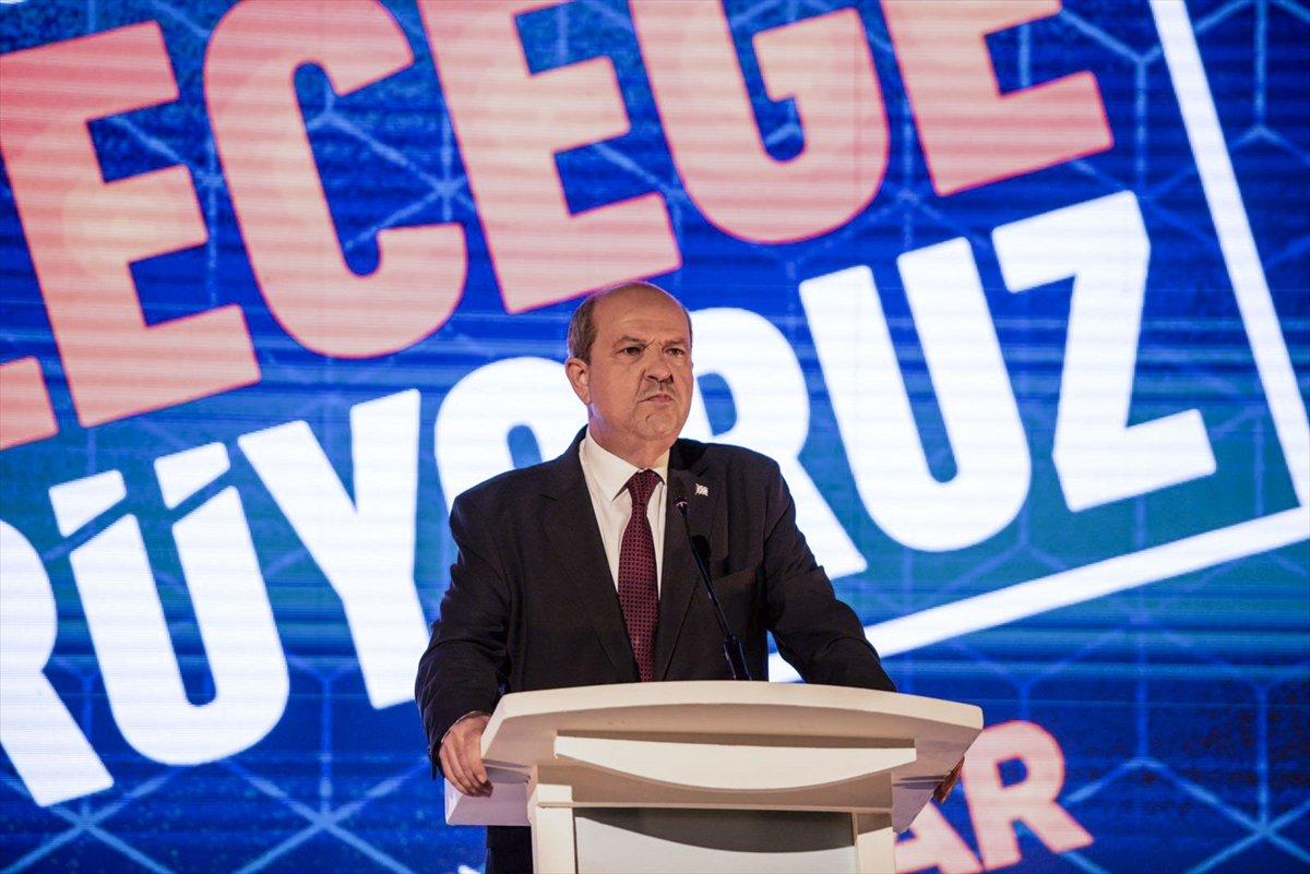 KKTC de cumhurbaşkanı adayı Ersin Tatar, vizyonunu açıkladı #2